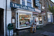 gift shop selling tourist souvenirs of north yorkshire
