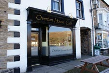 overton house cafe in reeth